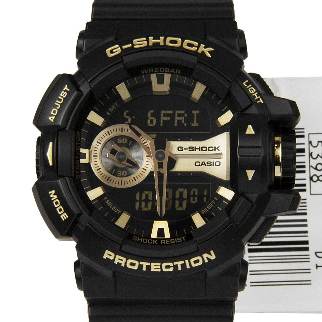Casio G Shock Sports Watch Men Ga 400gb 1a9 Magnetic Resistant Led Amber