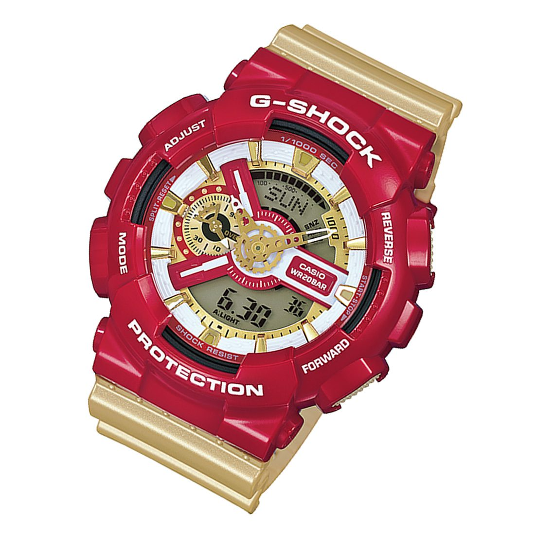 c772a9b1422b CASIO G-SHOCK Ironman LIMITED Edition GA110CS GA-110CS-4ADR Mens Watch FREE  EXPRESS
