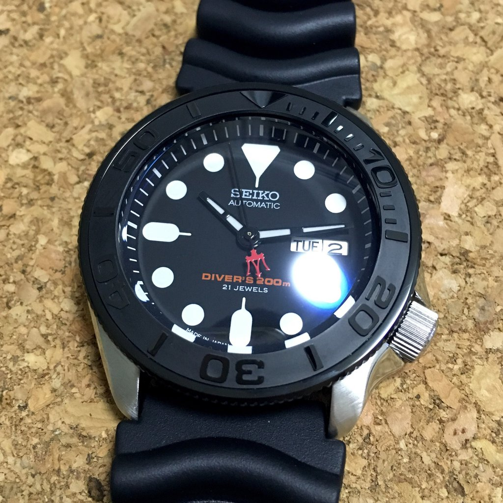 SEIKO TRIDENT SECOND HANDS 7s26 7s36 4r36 7002 7009 6309 NH36 SKX007 SKX009  SNZF