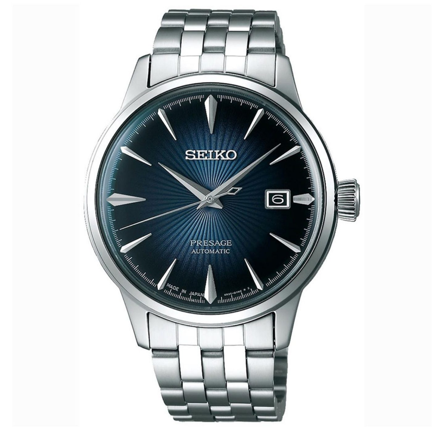 Seiko Presage Cocktail Srpb41 Srpb41j Japan Blue Moon