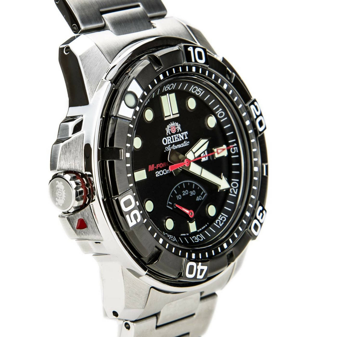 Orient Dial Force Beast Sport Watch Sel06001b0 Diver M Steel Black Men Stainless XOZTlwPiuk