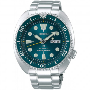 seiko green turtle